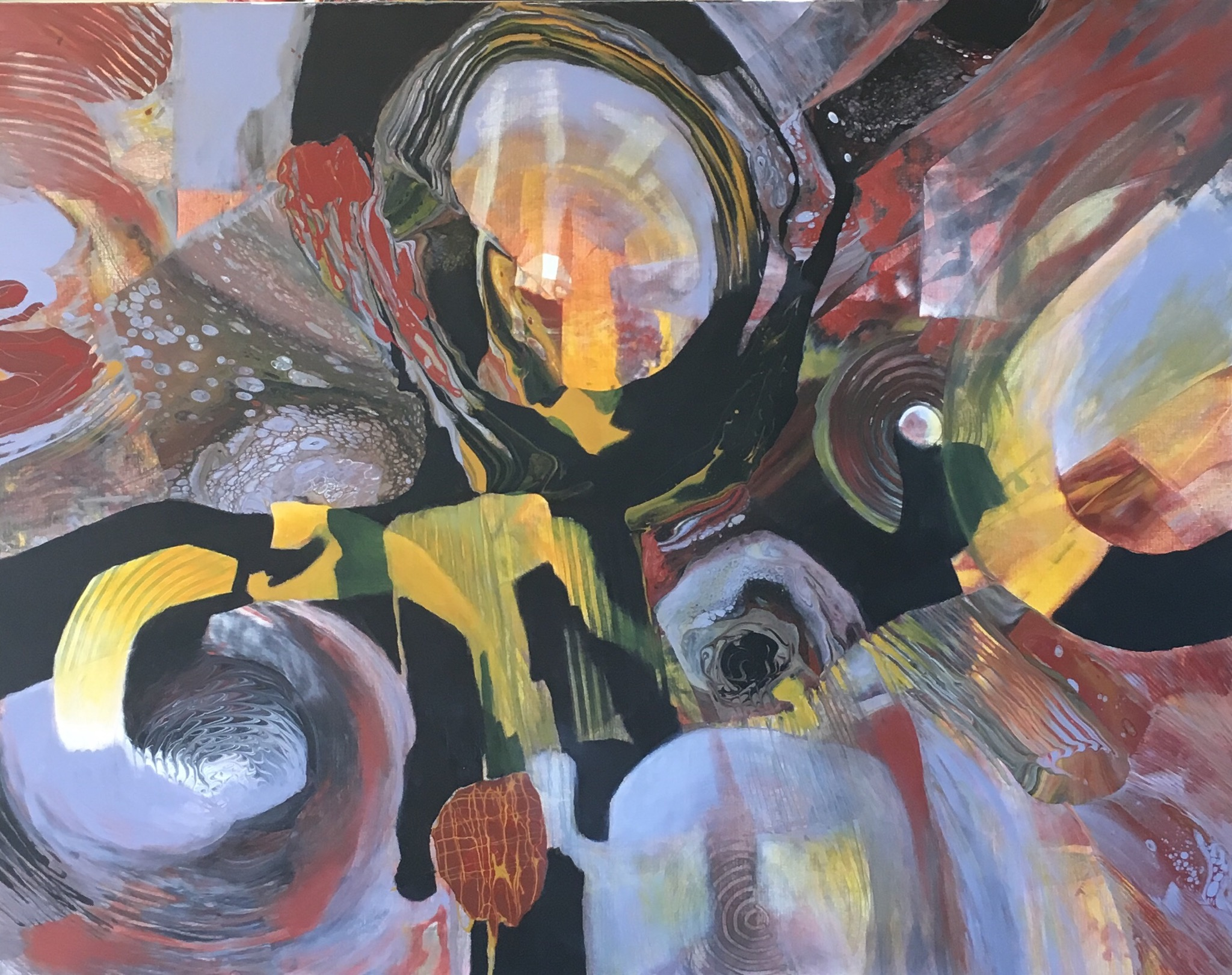 The Deep of Africa I by Ulla Meyer | ArtworkNetwork.com