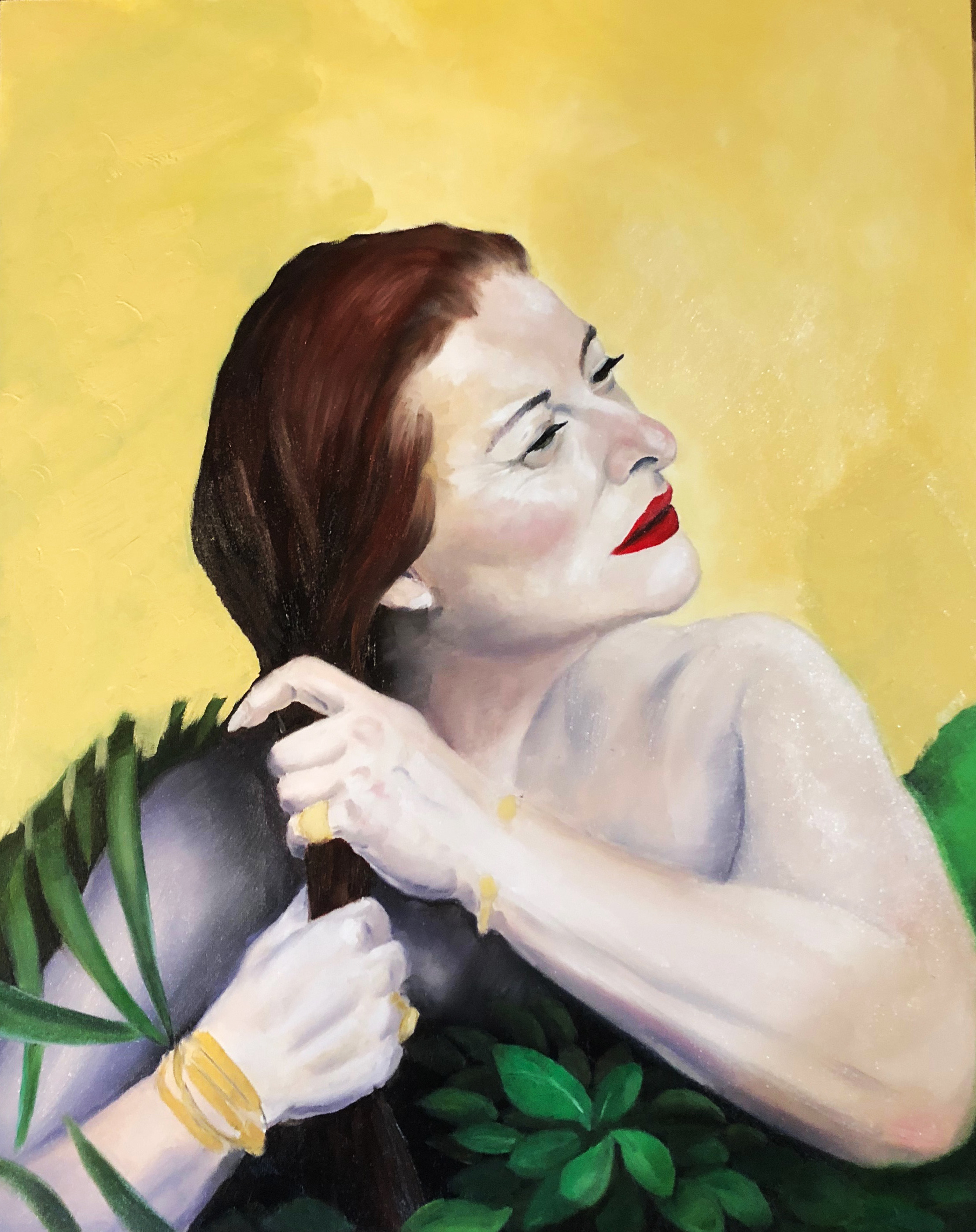 Portrait of Miriam by Troy Tagliarino | ArtworkNetwork.com