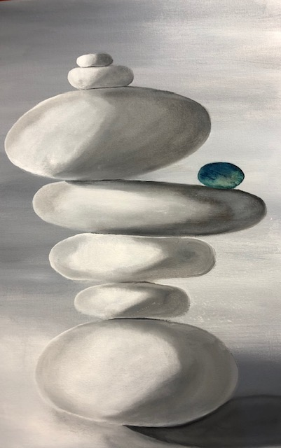 Floating Rocks by Patrick Irish | ArtworkNetwork.com