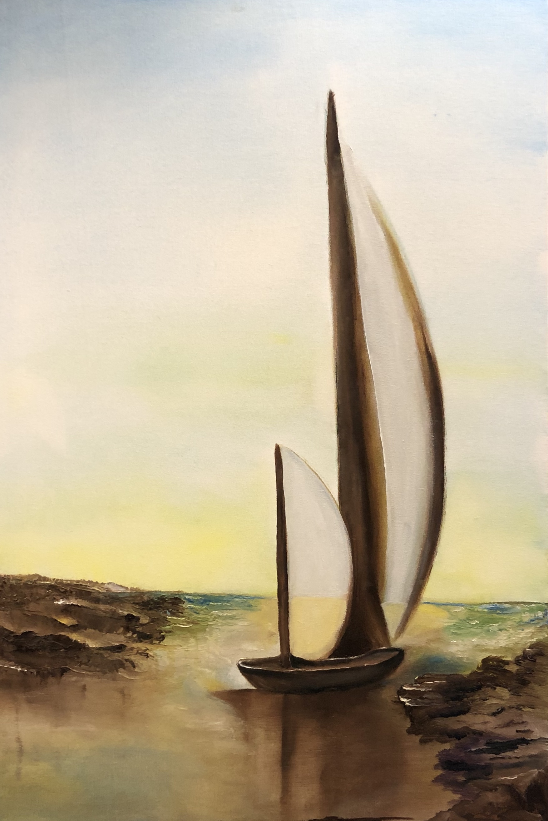 Sailing 1 by Patrick Irish | ArtworkNetwork.com